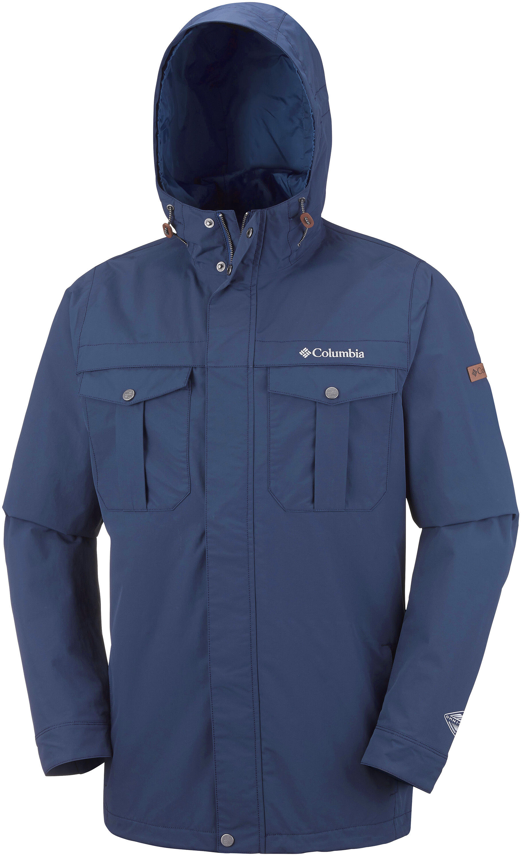 buy online b4617 3f510 Columbia Weiland Crossing Giacca Uomo, collegiate navy